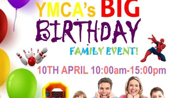 Come Along to YMCA Thornton's BIG Birthday Event on Sunday 10th April