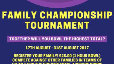 FAMILY CHAMPIONSHIP TOURNAMENT